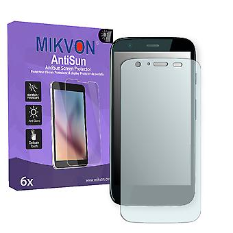 Motorola Falcon Screen Protector - Mikvon AntiSun (Retail Package with accessories)