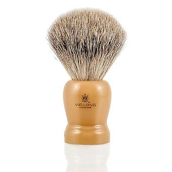 Vie-Long 16254 grigio Badger pennello da barba