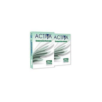 Activa Kompression Strumpfhosen Strumpfhosen Klasse 2 Fußkettchen Sand 259-0982 Ex-Lge