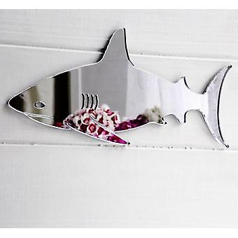 Ocean Swimming Shark Acrylic Mirror