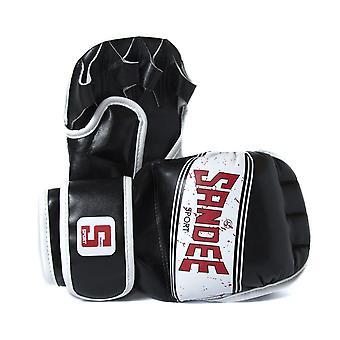 Jeorge esporte MMA Sparring luvas preto/branco