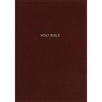 NKJV - Deluxe Reference Bible - Personal Size Giant Print - Leatherso