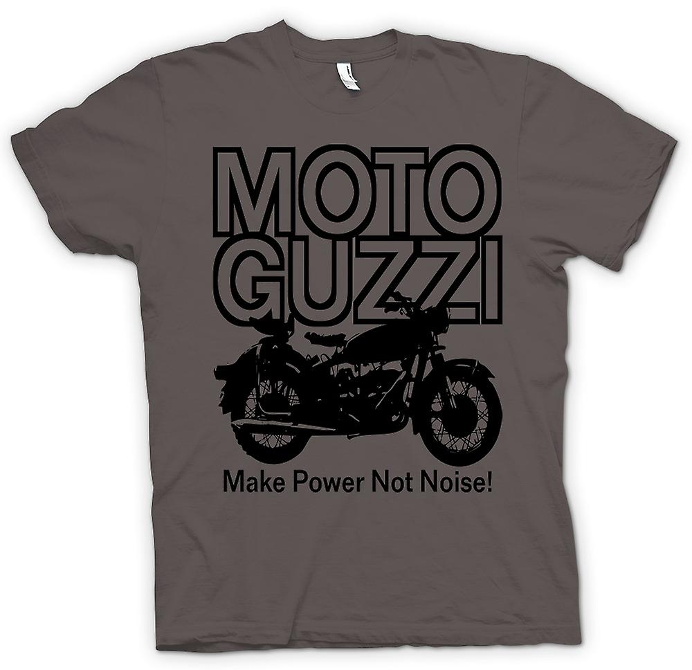Womens T-shirt - Moto Guzzi Make Power Not Noise