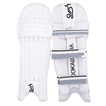Kookaburra 2019 Ghost 3.0 Cricket Batting Pads Leg Guards White/Grey