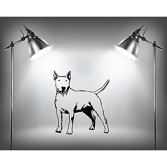 English Bull Terrier Dog Wall Sticker