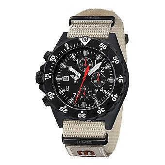 KHS watches mens watch shooter chronograph KHS. SHC. NXTLT5