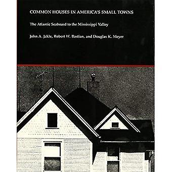 Commun des maisons en Amérique & s petites villes: la façade Atlantique à la vallée du Mississippi