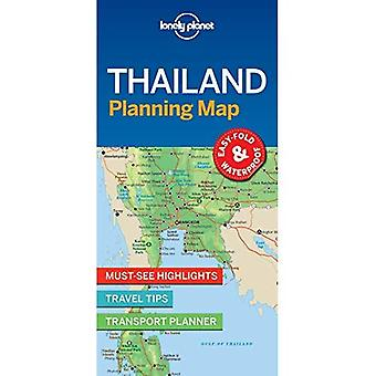 Lonely Planet Thailand planering karta