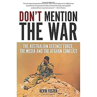 Don`t Mention the War (Investigating Power)