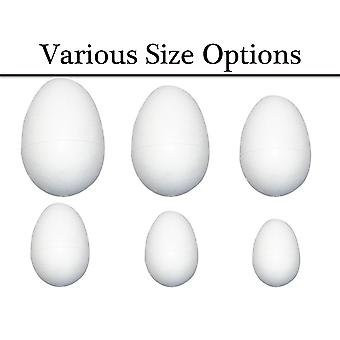 Choose 37mm to 120mm Polystyrene Eggs to Decorate