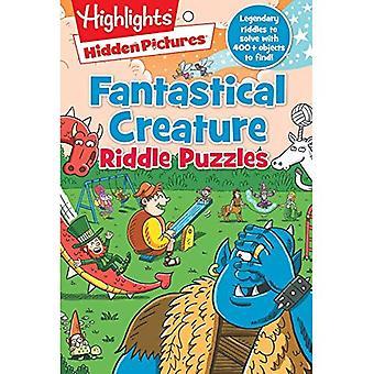 Fantastical Creature Riddle Puzzles (Hidden Pictures)