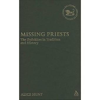Fehlt die Zadokites in der Tradition und Geschichte von Jagd & Alice Priester