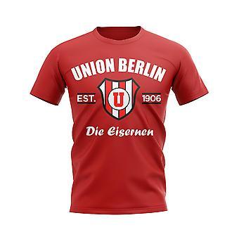 Union Berlin gegründet Fußball T-Shirt (rot)