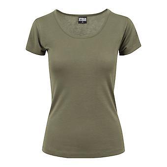 Urban Classics Women's T-Shirt Basic Viscose