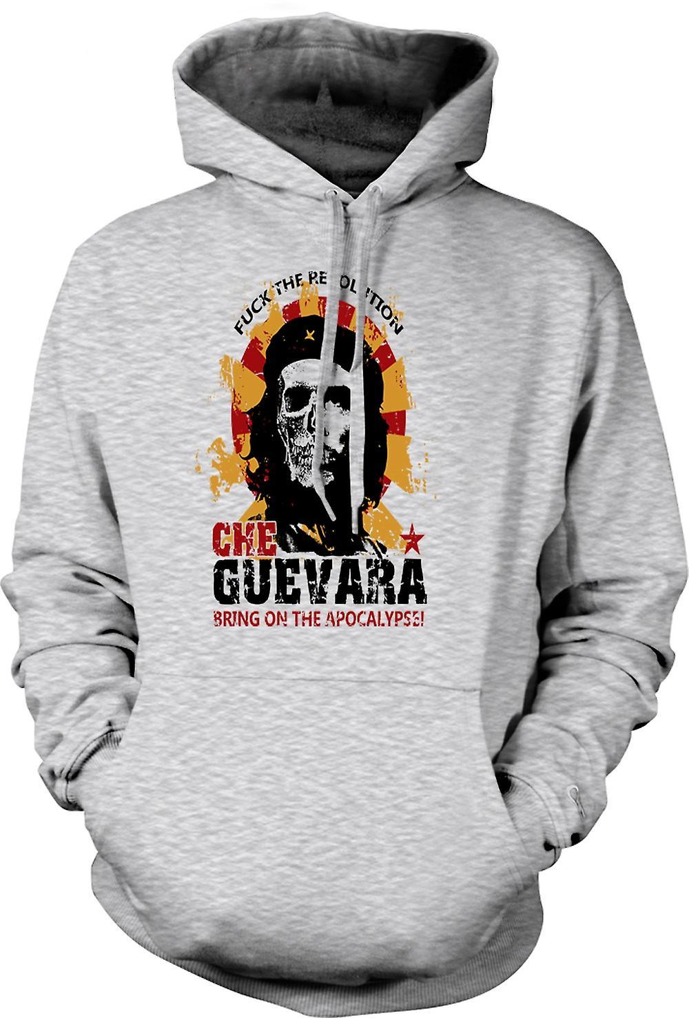 Mens Hoodie - Che Guevara - Apocalypse - Communism