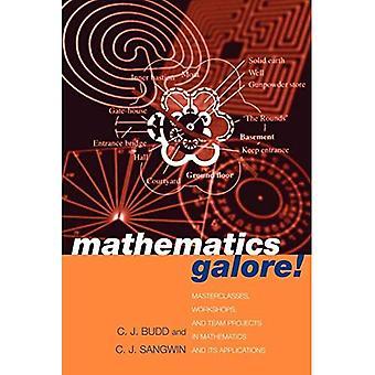 Matematiikka Galore!: masterclasses, työpajat ja Team projektit matematiikan ja sen sovellukset