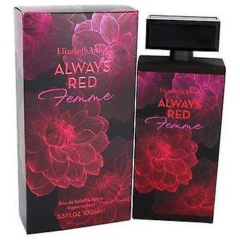 Always Red Femme By Elizabeth Arden Eau De Toilette Spray 3.3 Oz (women) V728-542228