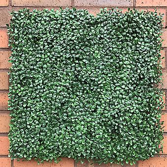Hedged In Boxwood Fire Retardant IFR Artificial Hedging Panel