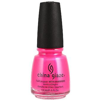 China Glaze Nail Polonais - Neon Pink Voltage 14ml (70291)