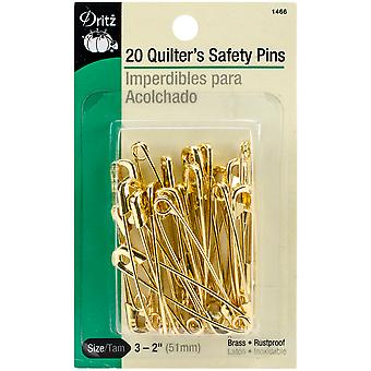 Quilter's Safety Pins-Size 3 20/Pkg 1466