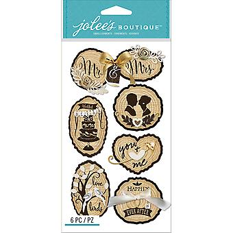 Jolee's Boutique Dimensional Stickers-Wedding Icons E5050924