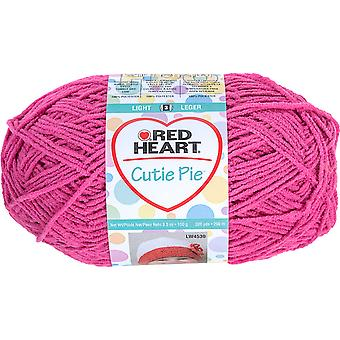 Red Heart Cutie Pie Yarn-Tulip E834-703