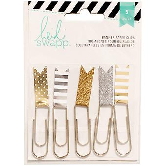 Heidi Swapp Paper Flag Clips 2.5