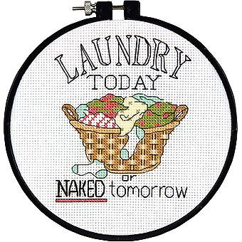 Learn A Craft Laundry Today Counted Cross Stitch Kit 6