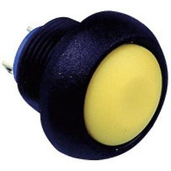 Pushbutton 125 Vac 0.125 A 1 x Off/(On) APEM IBR3S