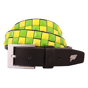 Lowlife Dub Belt - Black / Green / Yellow