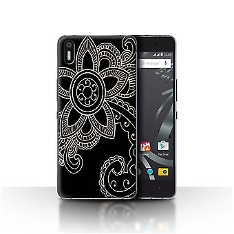 STUFF4 Case/Cover for BQ Aquaris X5/Daisy/Henna Tattoo