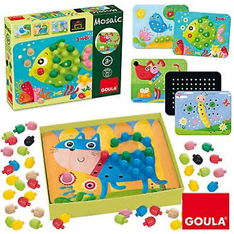 Goula Game to create mosaics (Toys , Educative And Creative , Design And Mode , Mosaic)