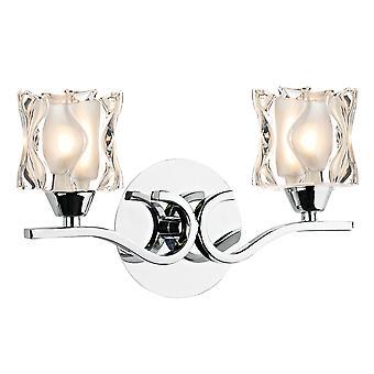 Dar Zola ZOL0950 Modern Wall Lights Double