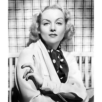 Carole Lombard Portrait Ca 1930S Photo Print