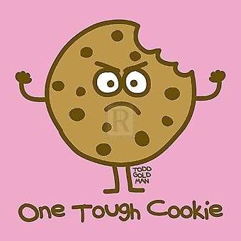 One Tough Cookie Poster Print by Todd Goldman (8 x 8)