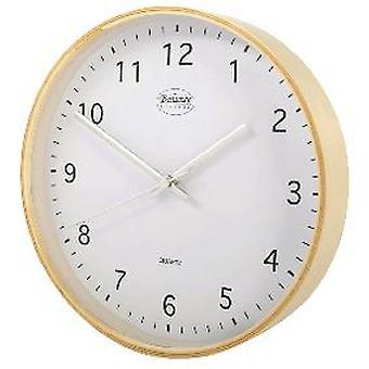 Balance Wall Clock 25 Cm Analogue Beige / White (Heim , Dekoration , Uhren)