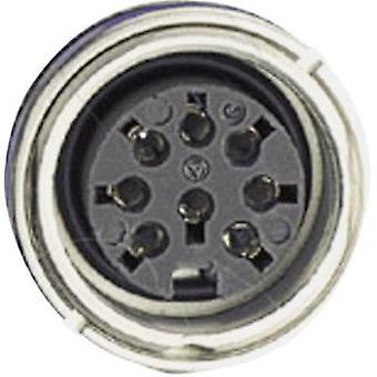 Amphenol C091 31N006 100 2 Circular Connector Nominal current: 5 A Number of pins: 6 DIN