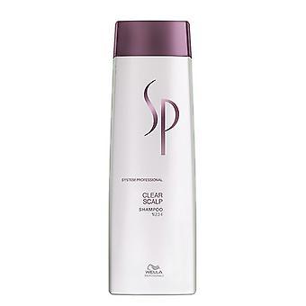 Wella Sp Clear du cuir chevelu shampooing anti-pelliculaire