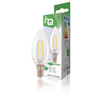 Hq Led Filament Bulb Retro E14 2W 2700K 210 Lm Y