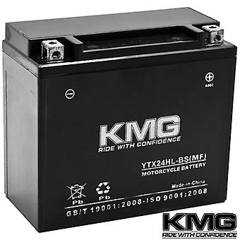 KMG® YTX24HL-BS Battery For Arctic Cat Bearcat 570 2004-2009 Sealed Maintenance Free 12V Battery High Performance OEM Replacement Powersport Motorcycle ATV Scooter Snowmobile Watercraft KMG