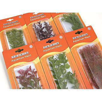 Tropix acuario plantas grandes surtido 30cm (Pack de 6)