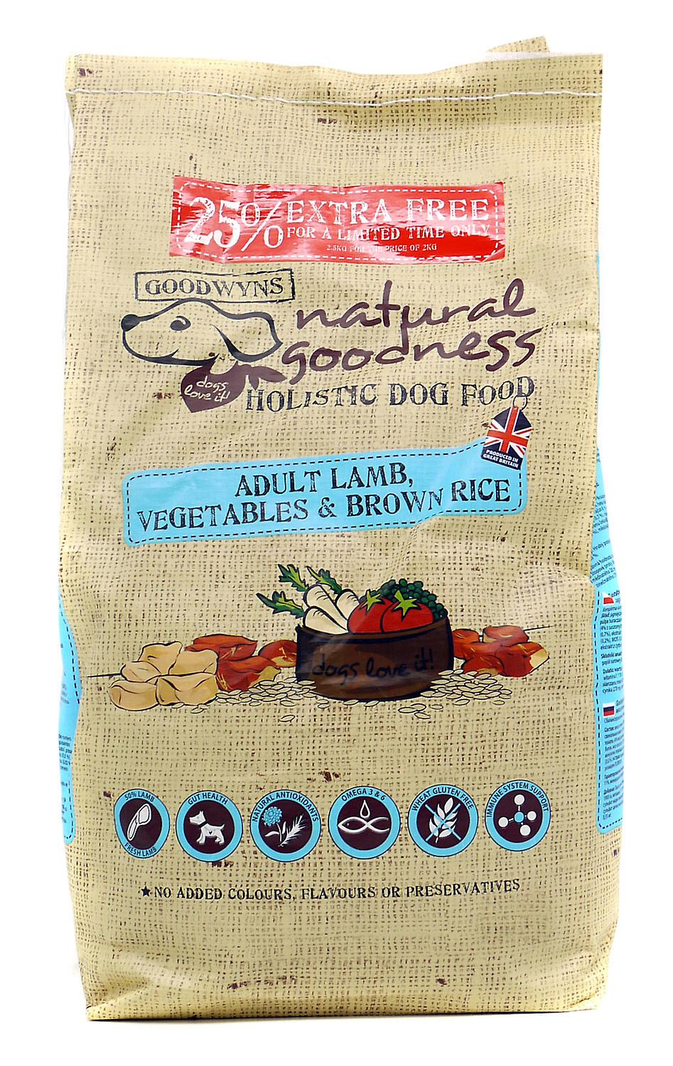 Goodwyns Adult Complete Lamb Brown Rice & Vegetables 400g (Pack of 10)