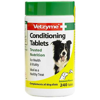 Vetzyme hund Conditioning 240 tabletter
