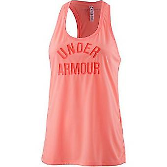 Under Armour tank top Threadborne train twist ladies orange 1290612-404