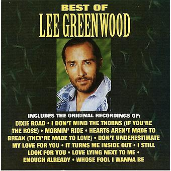 Lee Greenwood - bästa av Lee Greenwood [CD] USA import