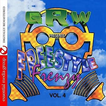 GRW Recordings Presents Freestyle Frenzy - Vol. 4-Grw Recordings Presents Freestyle Frenzy [CD] ÉU importer