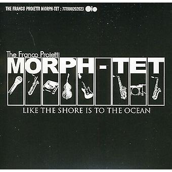 Franco Morph-Tet Proietti - Like the Shore Is to the Ocean [CD] USA import