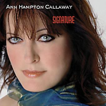 Ann Hampton Callaway - signatur [CD] USA import