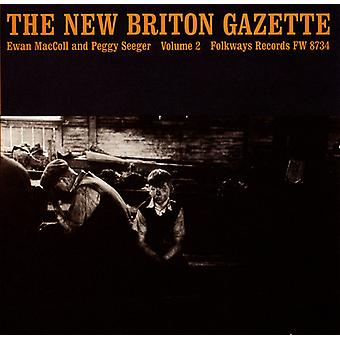 Maccoll/Seeger - Maccoll/Seeger: Vol. 2-New Briton Gazette [CD] USA import