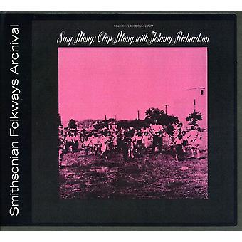 Johnny Richardson - Sing Along Clap Along with Johnny Richardson [CD] USA import